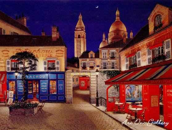 Liudmila Kondakova - Montmartre-Village.jpg
